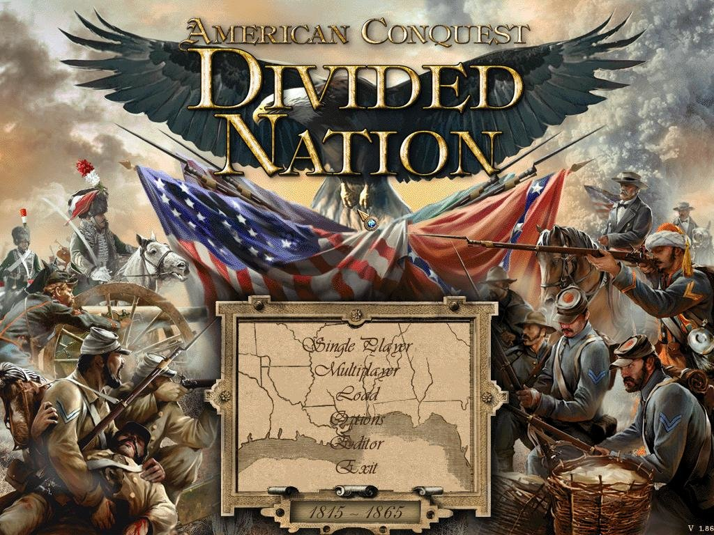 american conquest divided nation complet