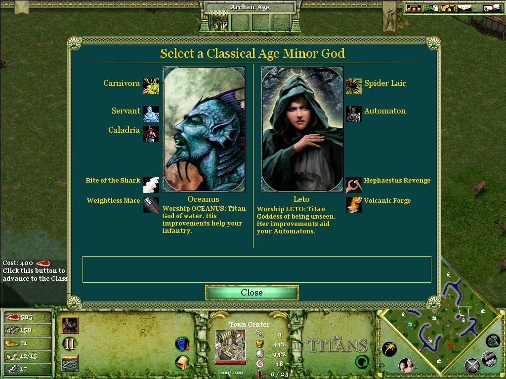 Torrent age of mythology titans mac