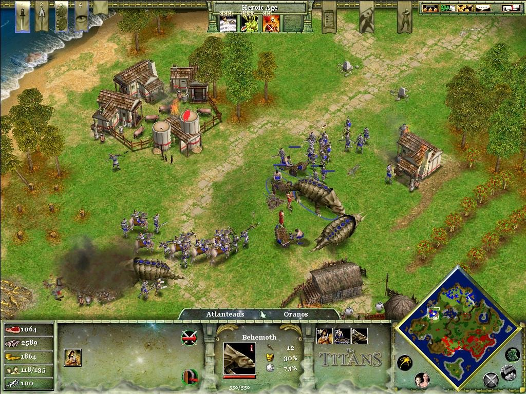 age of mythology online free download