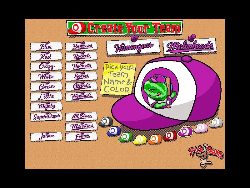 Backyard Baseball 1997 Pc Review And Full Download Old Pc Gaming