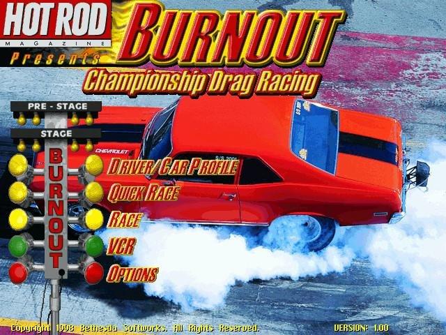 Burnout: Championship Drag Racing « Old PC Gaming