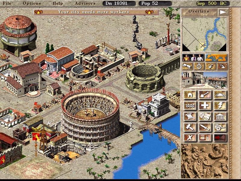 Caesar iii (mac) my abandonware.