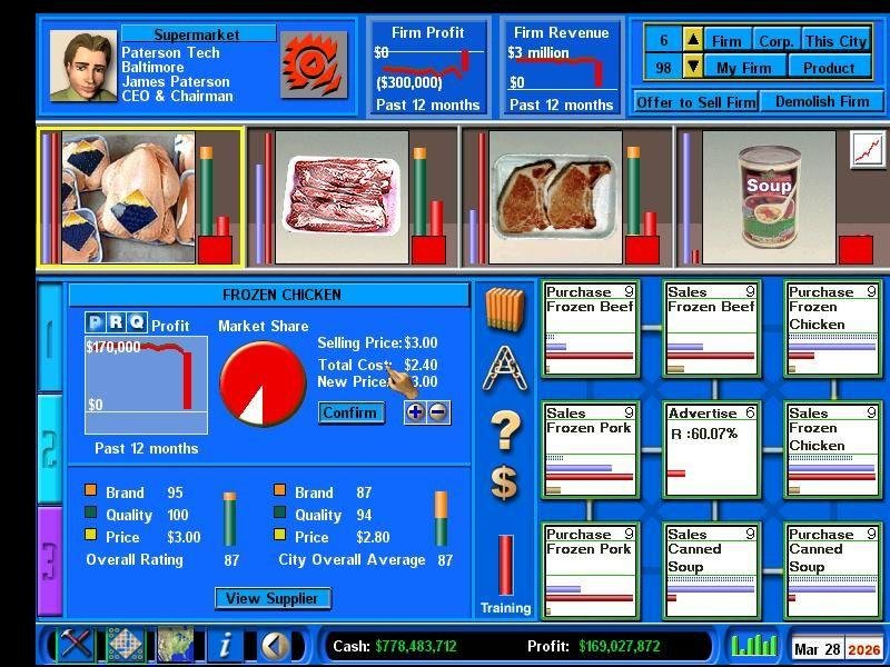 Capitalism 2 (2001) pc review and full download | old pc gaming.