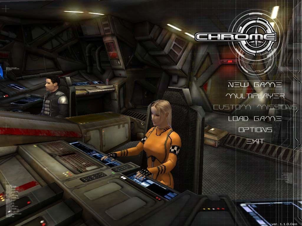 Chrome (2003) pc review and full download | old pc gaming.