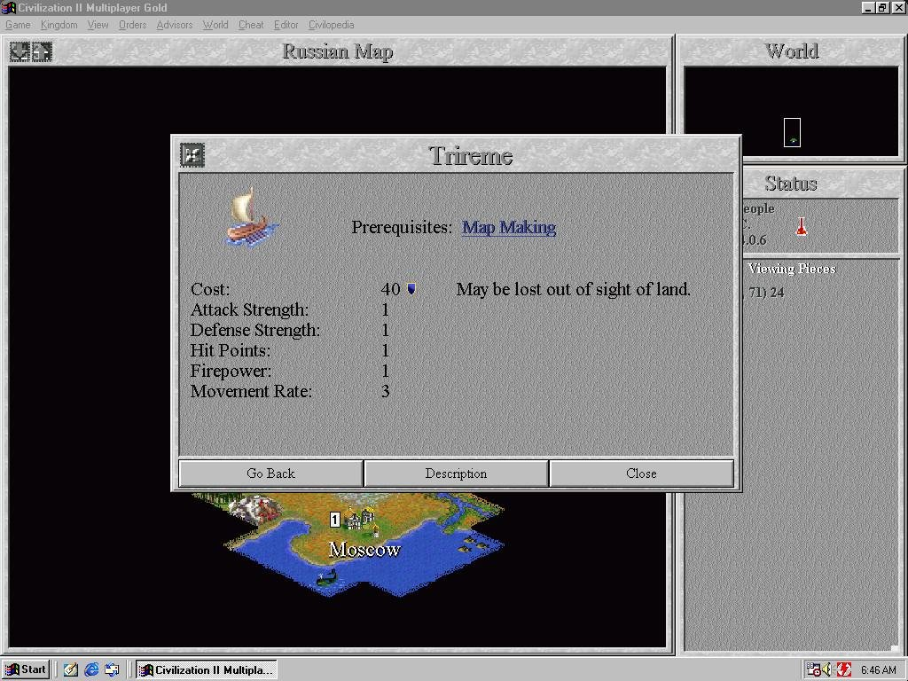 Civilization 2 (1996) - PC Review and Full Download | Old PC