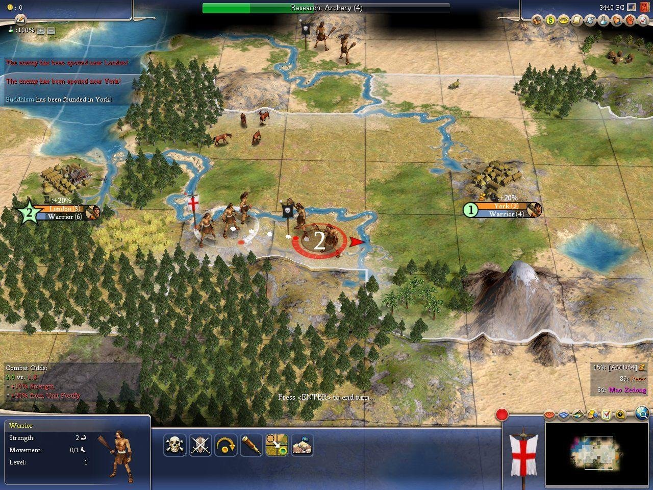 Civilization 4 - PC Review and Full Download | Old PC Gaming