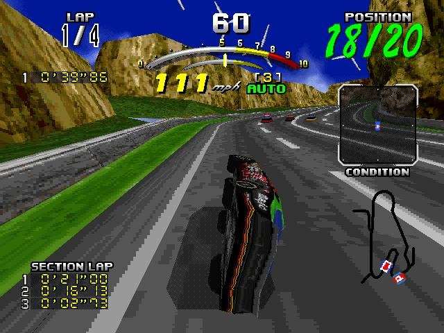 Daytona usa (1996) pc review and full download | old pc gaming.