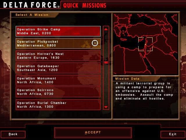 Delta force Land Warior generator