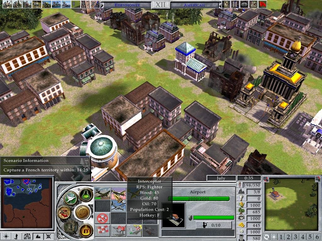 Empire earth iii demo released.