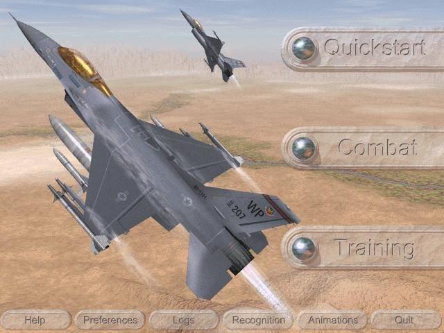 F16 flight simulator free download