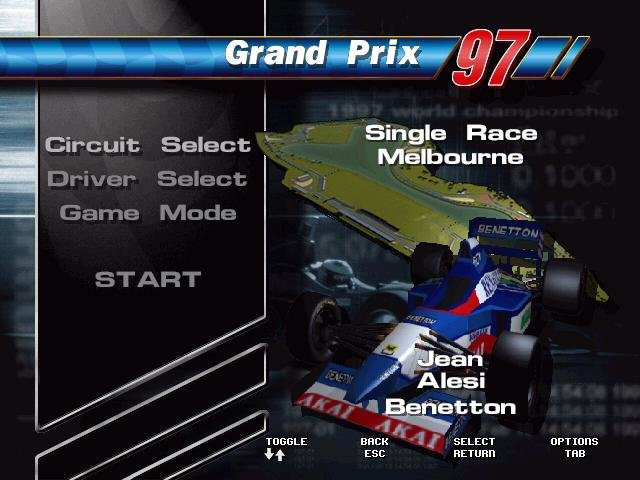 Formula One 97 Pc Review And Full Download Old Pc Gaming