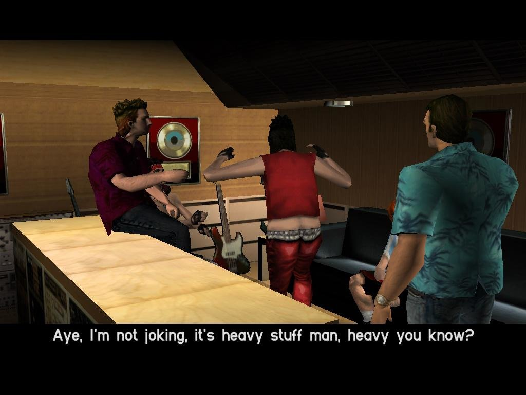 Authoritative answer, Grand theft auto vice city sex turns out?