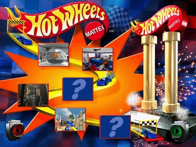 Hot Wheels Stunt Track Driver Game