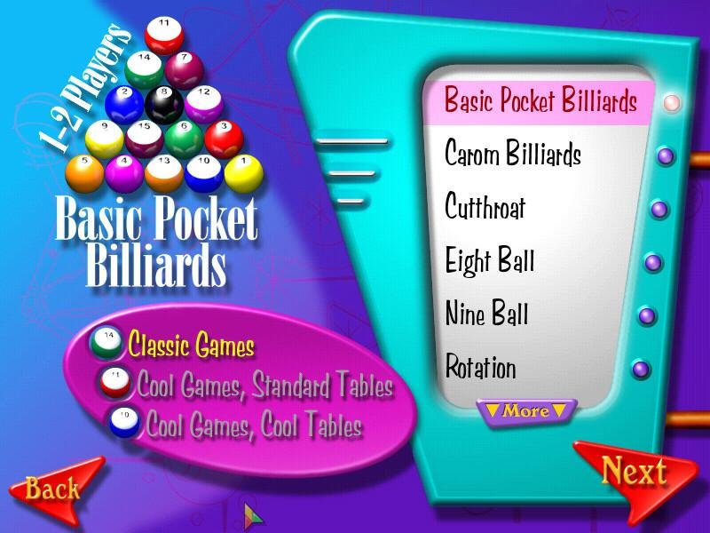 Download 3d ultra cool pool snooker game.
