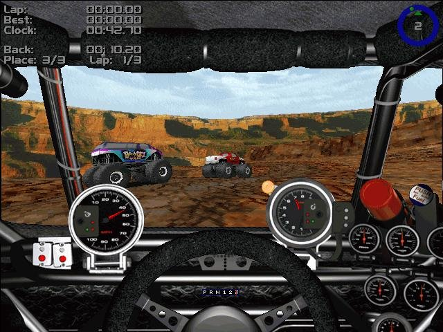 Monster Truck Madness 2 Pc Review And Full Download Old Pc Gaming