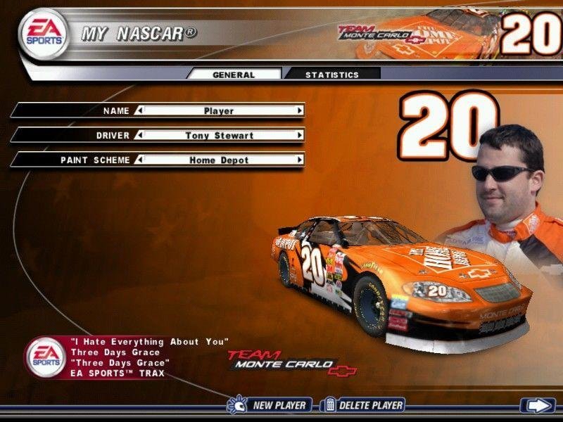 Nascar thunder 2004 download (2003 simulation game).