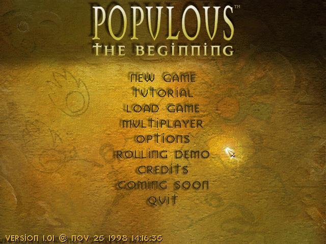 Populous: The Beginning (1998)