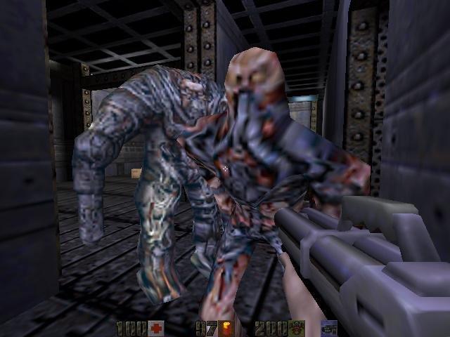 Quake ii maps by spirit.
