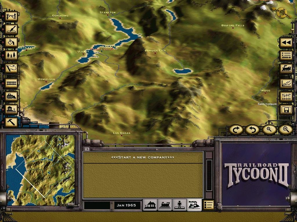 Railroad Tycoon 2 (1998) - PC Review and Full Download   Old