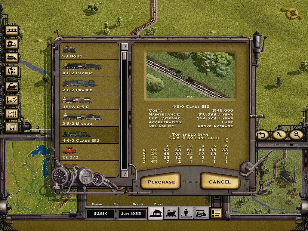 Download railroad tycoon for free.
