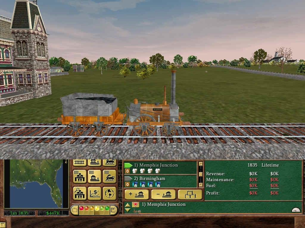 Railroad Tycoon 3 - My Abandonware - Download Old Video Games