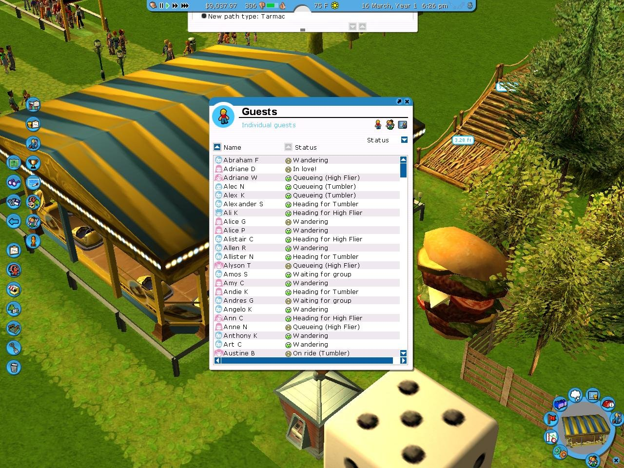 RollerCoaster Tycoon 3 - PC Review and Full Download | Old