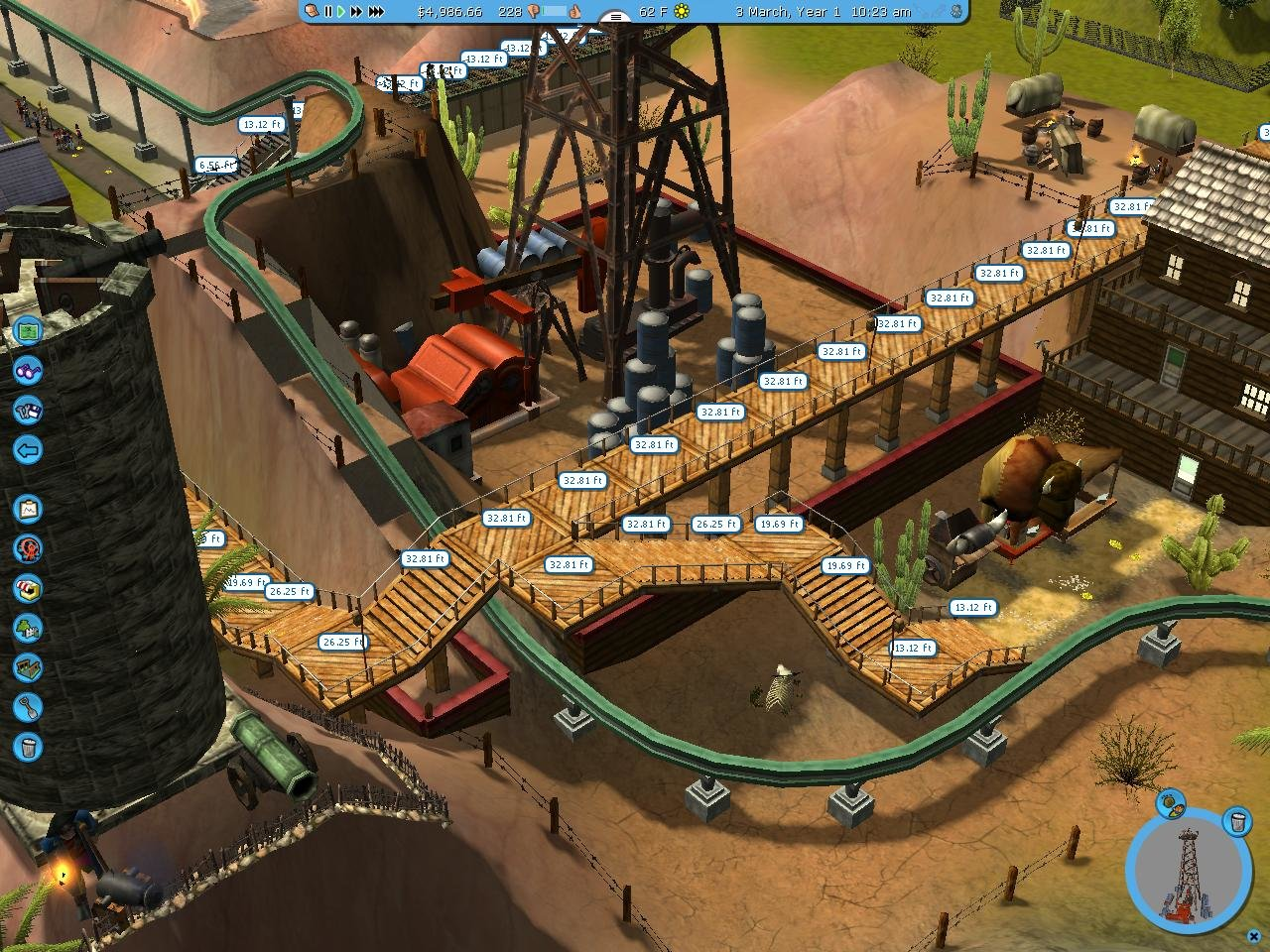 RollerCoaster Tycoon 3 - PC Review and Full Download | Old PC Gaming