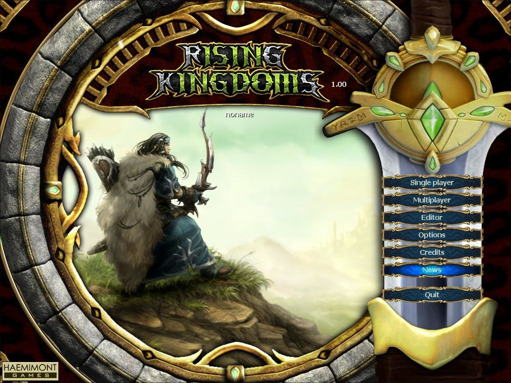 Rising Kingdoms (2005) - PC Review and Full Download   Old PC Gaming