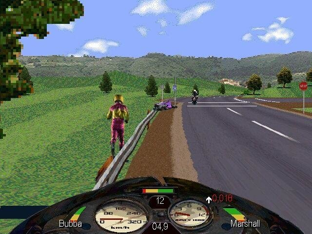 Road rash (1996) pc review and full download | old pc gaming.
