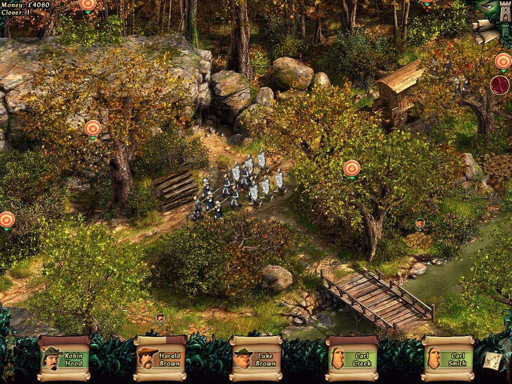 Robin hood: the legend of sherwood for windows (2002) mobygames.