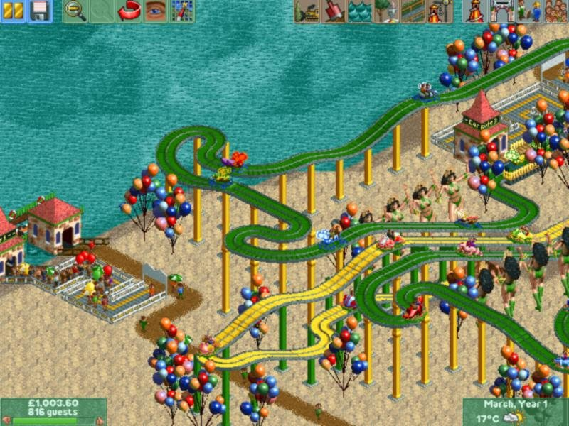 RollerCoaster Tycoon 2 (2002) - PC Review and Full Download | Old PC