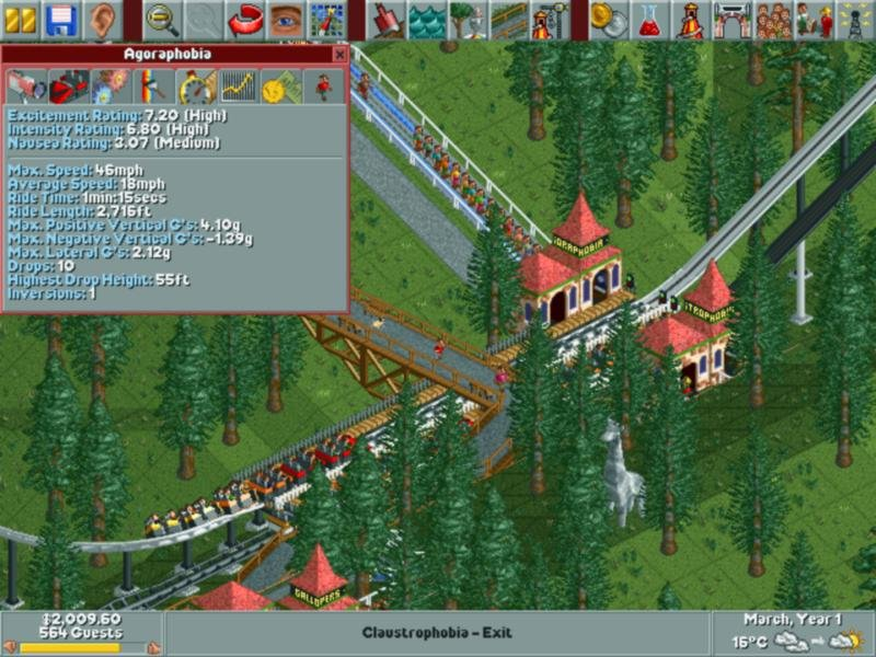 RollerCoaster Tycoon (1999) - PC Review and Full Download | Old PC