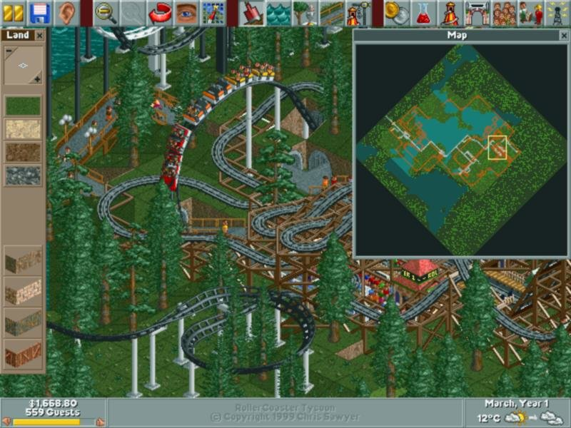 RollerCoaster Tycoon (1999) - PC Review and Full Download