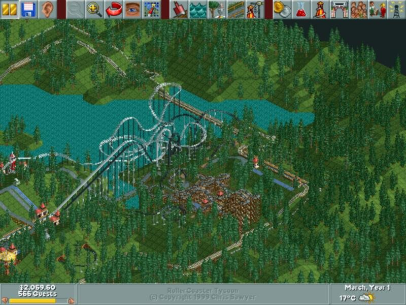 roller coaster tycoon 1 game free download full version