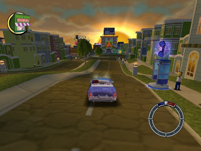 The simpsons: hit & run full game free pc, download, play.