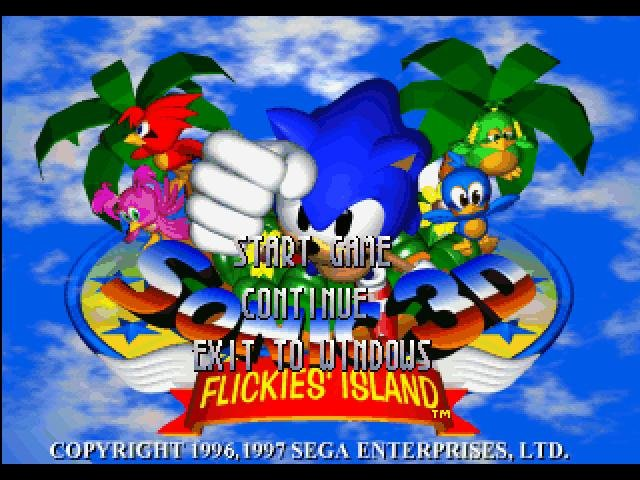 Sonic 3D Blast - PC Review and Full Download | Old PC Gaming