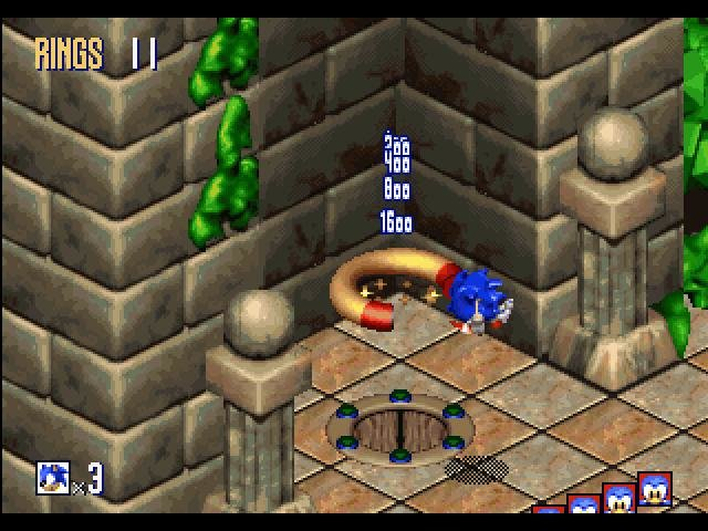 Sonic 3D Blast - PC Review and Full Download   Old PC Gaming