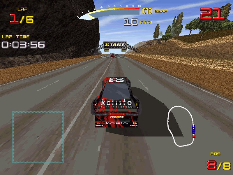 Ultimate race pro download (1998 simulation game).