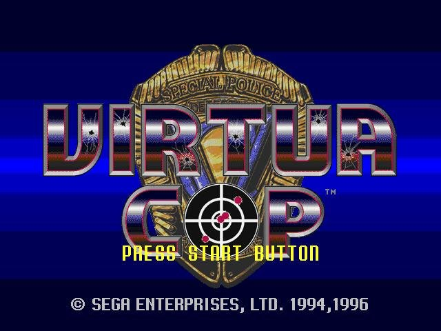 Virtua cop special pack (virtua cop 1 & 2 + the house of the dead.