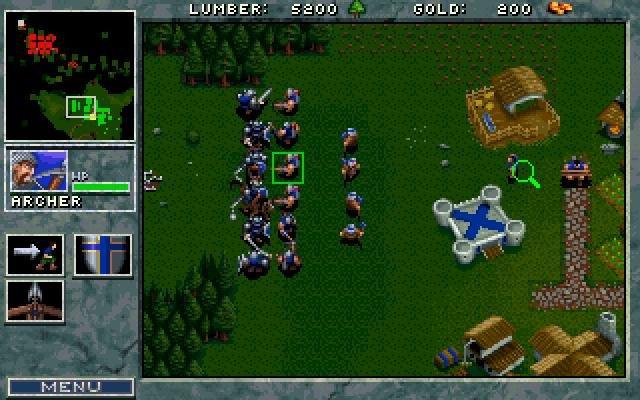 Warcraft: orcs & humans demo: blizzard entertainment: free.