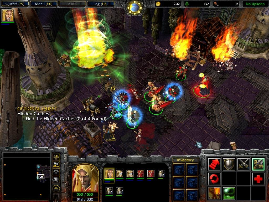 Warcraft 3 Frozen Throne - PC Review and Full Download   Old