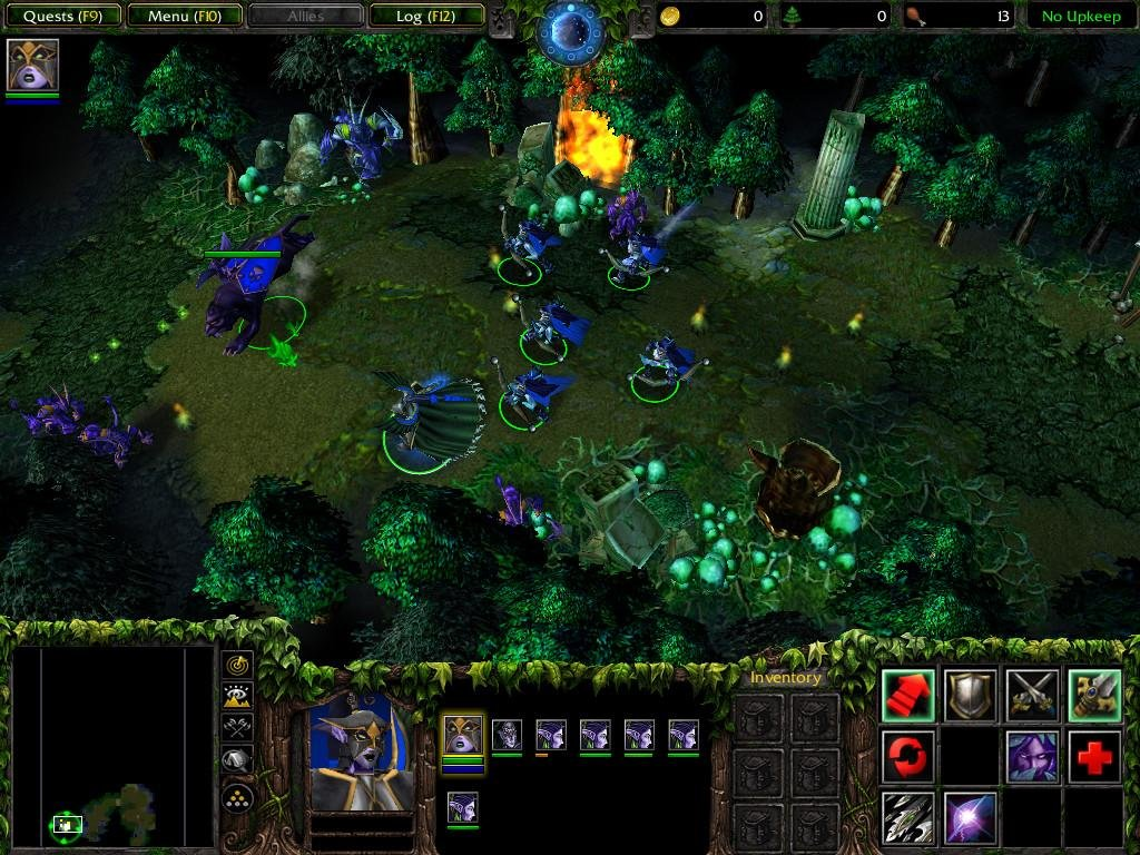warcraft 3 frozen throne portable download