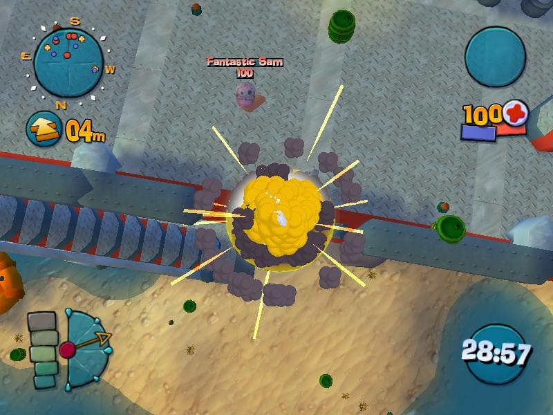 Worms 4 Mayhem 2005 Pc Review And Full Download Old Pc Gaming