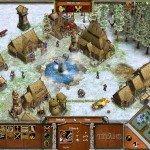 A picturesque Norse village.