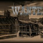 The menu screen for Wanted,