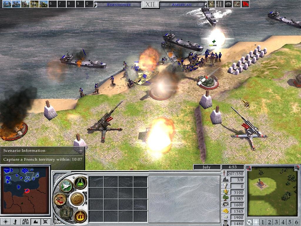 Empire Earth 2 (2005) - PC Review and Full Download   Old PC